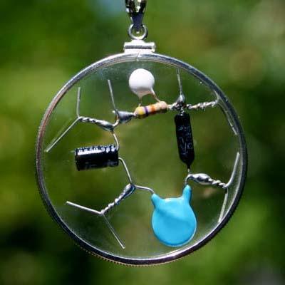 The HBM Amulet - Crystal Quantum Harmony, Balance, Meridian